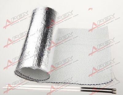 Universal Starter Distributor Aluminized Heat Shield Reflective Mylar For Motor