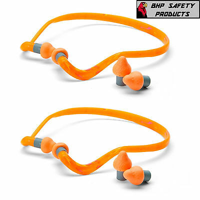 Howard Leight Qb2Hyg Supra-Aural Quiet Band Banded Ear Plugs Nrr 25 (2 Pack)