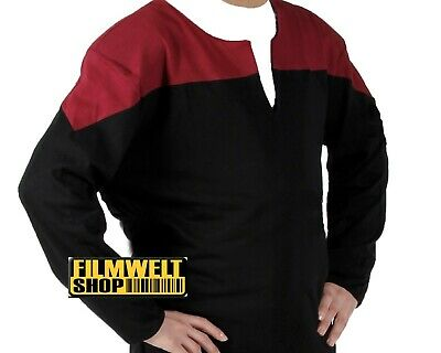 STAR TREK _Voyager_ CAPTAINS_Uniform_ rot  top neu  XL