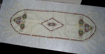 1920s GREEK - MACEDONIAN HAND EMBROIDERED TABLE COVER