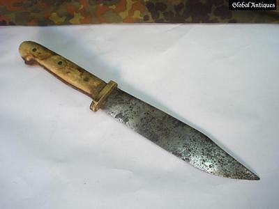ANTIQUE 1750s OTTOMAN ISLAMIC LARGE KNIFE