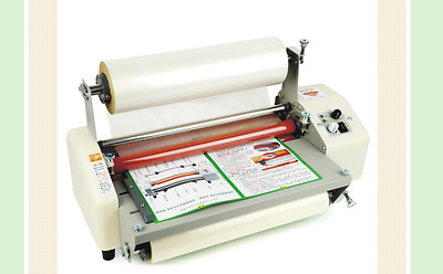 """Four Rollers Hot and cold roll laminating machine for 17.52""""T NEW"""
