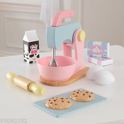Kidkraft Wooden Pastel Baking set --- Pretend Kitchen Play