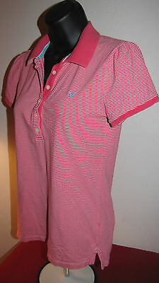 c969801ae American Eagle Outfitters Pink   Orange Striped Polo T-Shirt Size M ...