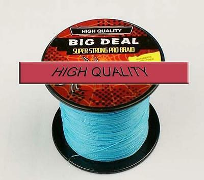 New 4S Power Hardly Strong 100M Dyneema Braided Fishing Braid Line 10-100 LB