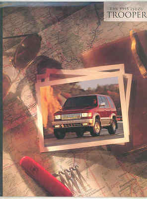 1995 Izusu Trooper Brochure wt5766