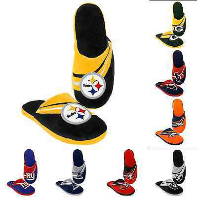 NFL Football 2013 Big Logo Team Slide Shoe Slippers - New! - Pick Your Team!