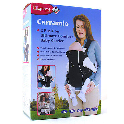 Clippasafe Carramio Baby Carrier Choose From 3 Colours