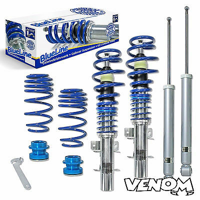 Jom Blueline Height Adjustable Coilovers Suspension Kit VW Polo 9N/9N3-741072
