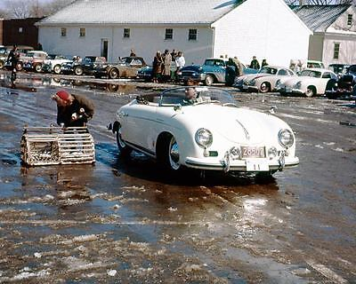 1956 ? Porsche 356 Speedster & Coupe Race Car Photo TR3 u8313-34FIXA