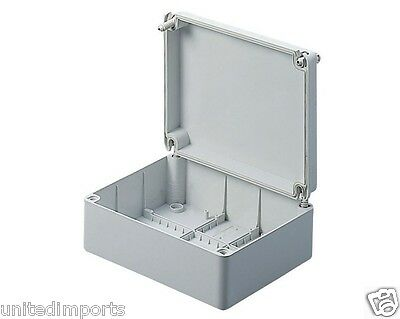 GEWISS GW44207 JUNCTION BOXES WITH PLAIN SCREWED LID - IP56 190X140X70mm