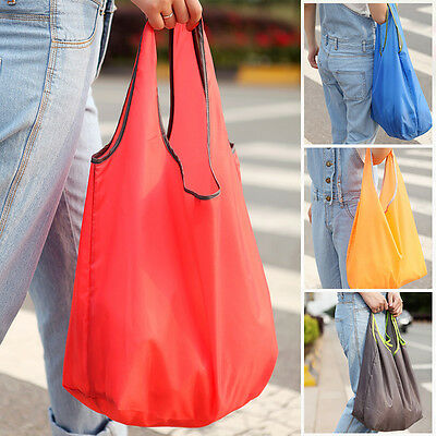 Cute Eco Reusable Shopping Bags Tote Foldable Recycle Bag Grocery Beach Laundry
