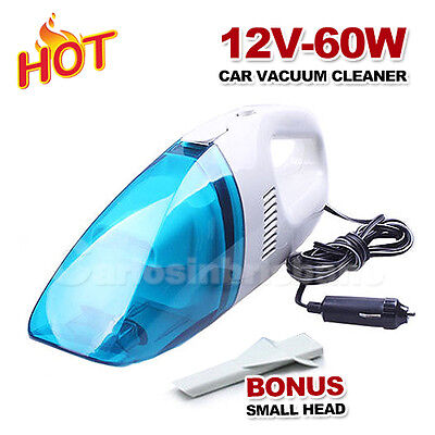 Car Vehicle Auto 12V Wet Dry Handheld Portable Mini Dust Vacuum Cleaner
