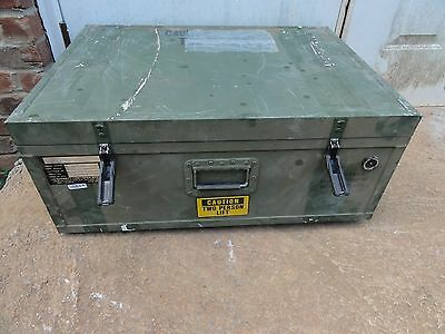 Garrett 31x22.5x12.5 Single Lid Hard Shipping Case ***Aluminum***