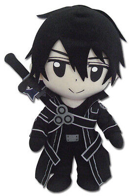 Sword Art Online 8'' Kirito Plush Doll Anime Manga Licensed NEW