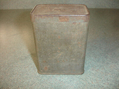 Collectible Old Vtg Antique Walter Baker & Co Inc Breakfast Cocoa Tin