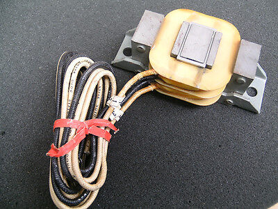 """Dings H60177-64 Magnetic Coil 4 Wire (2) 1/4"""" Mounting Holes"""
