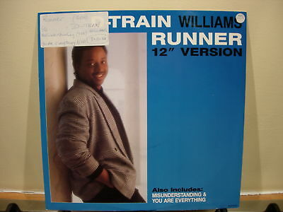 James (D Train) Williams - Runner / Misunderstanding / You Are Everything - 12""