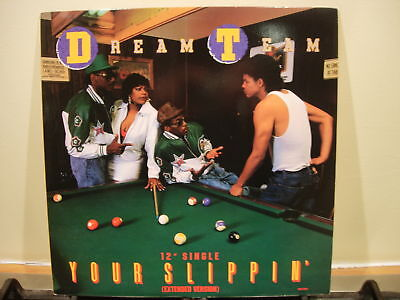 "Dream Team - Your Slippin' - 12"" West Coast Hip Hop - Near Mint 1989 Us Mca"
