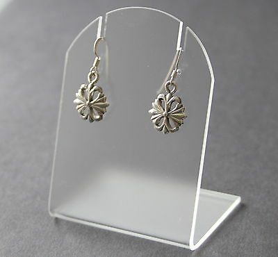 Sterling Silver 925, Drop Earrings,  Drop 21