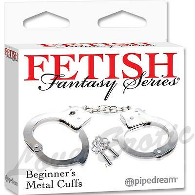 Lockable Strong Metal Hand Cuffs 2 Keys Quick Release  Free Post 24Hr Dispatch