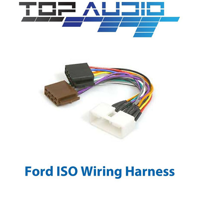 FORD Falcon AU 1998-2002 ISO WIRING HARNESS stereo radio plug lead wire adaptor