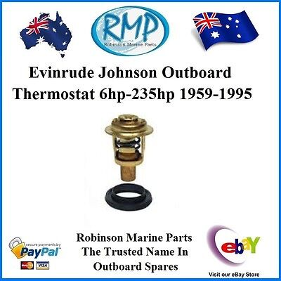 A Brand New Evinrude Johnson Outboard Thermostat 6hp-235hp 1959-95 # 75692K .
