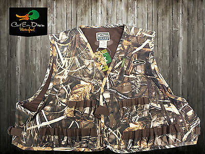 Drake Waterfowl Systems Duck Goose Hunting Wading Vest 900D Max4 Camo