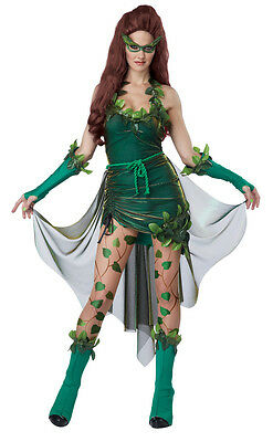 Lethal Beauty Poison Ivy Style Batman Adult Costume
