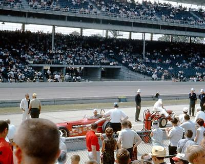 1964 Race Car Photo Indy 500 u9376-819YRM