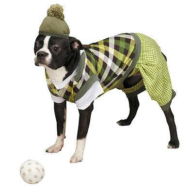 Casual Canine Putter Pup Golf Dog Halloween Costume Pet costumes XS-XL