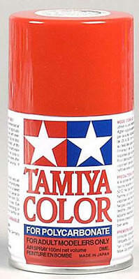 Tamiya Ps-34 Bright Red Polycarbonate Spray Paint  PS-34