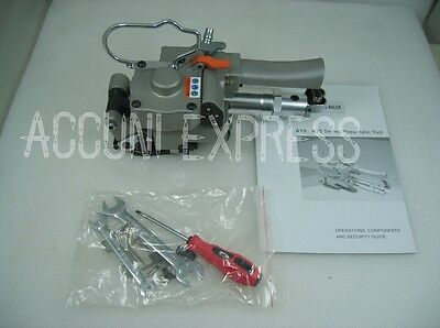 Pneumatic strapping tool & handheld band strapper, PET&PP banding strap A19