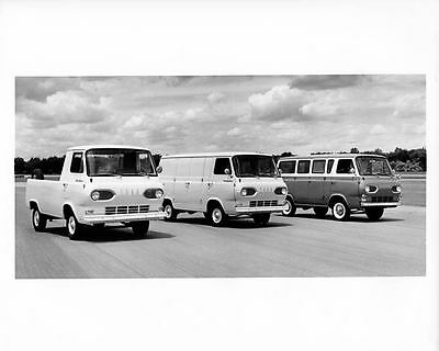1961 Ford Econoline Pickup Truck Van Bus Factory Photo m1030-JGK1H7