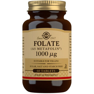 Solgar Folate 1000µg Tablets