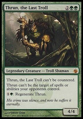 THRUN, L'ULTIMO TROLL - THRUN, THE LAST TROLL Magic MBS Mint