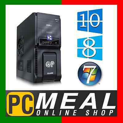 INTEL Core i5 6500 3.6GHz Max DESKTOP COMPUTER 4GB DDR4 500G HDMI Quad GAMING PC