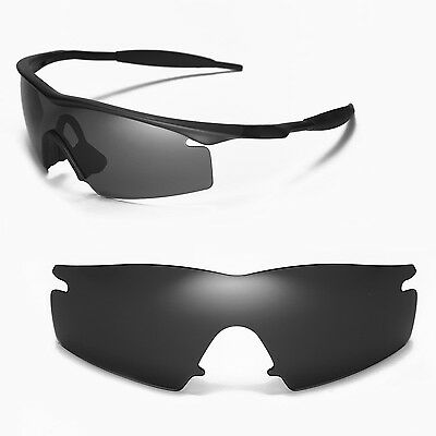 New WL Polarized Black Replacement Lenses For Oakley M Frame Strike Sunglasses
