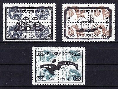 Spitsbergen 1995 - Russia Local Overprint  Mint Never Hinged