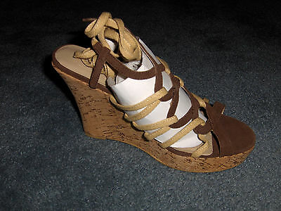 Women's Shoes Curations Lace Up E Brown 12 (Med.)