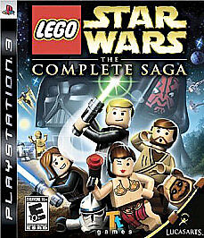 BRAND NEW LEGO Star Wars: The Complete Saga (Sony Playstation 3) Game Lot Of Fun