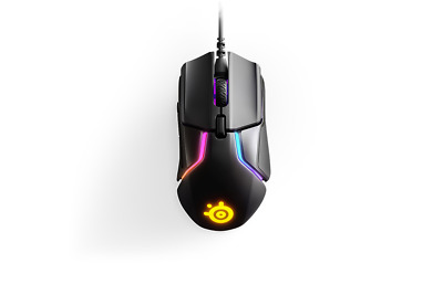 SteelSeries Rival 600 RGB 12000 CPI TrueMove3+ Dual Optical Gaming Mouse 62446