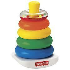 Fisher Price - Rock A Stack - Sorter Stacker Rattle