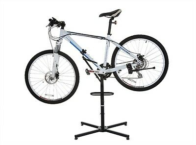 Confidence Adjustable Bicycle Bike Storage and Repair Stand with Tool Tray