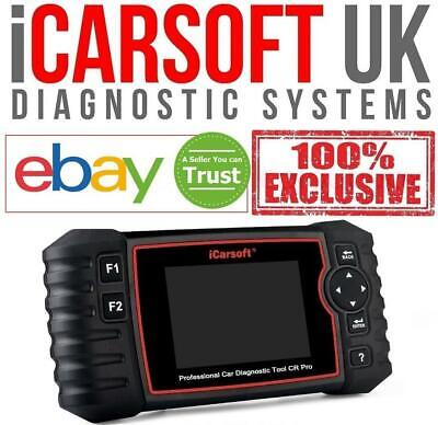 iCarsoft CR PRO - Full System, Multi Manufacturer Professional Diagnostic Tool