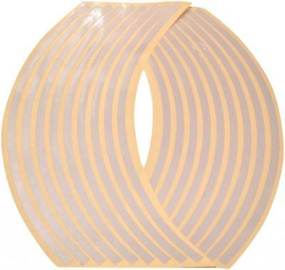 Reflective Wheel Rim Tape Stripes - Silver Fits All