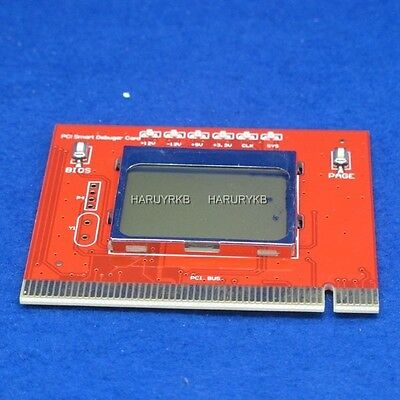 BIOS CPU RAM Test PCI PC Computer Analyzer Tester Diagnostic Card LCD Display #2