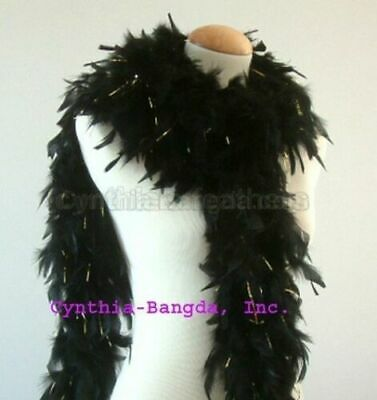 """65g 72"""" long Chandelle Feather Boa with Tinsels, ~20 Colors to pick up from NEW!"""