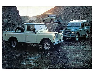 1978 Land Rover 88 109 Photo Poster zm0616-1HSZMF