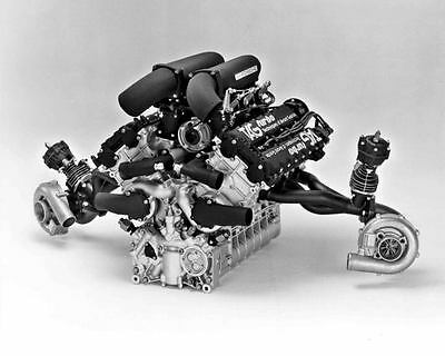 1984 Porsche Tag Turbo Formula 1 Engine Automobile Photo Poster zm079-ALGCY7